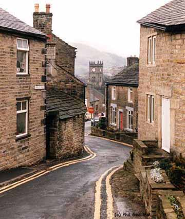 Village from 'Donkey Street' (c) Phil Gee